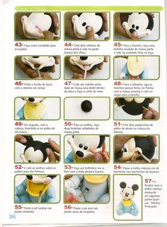 STEP BY STEP MICKEY PART N°4