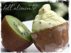 Kiwi Gelato by bell'alimento >> This looks so refreshing!