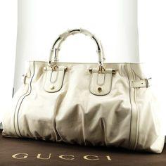 Magnifique sac à main Gucci bamboo en occasion Prix d'occasion : 349 € / Très bon état