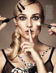 Diane Kruger Wows in the November Issue of Glamour Paris by Jason Kim