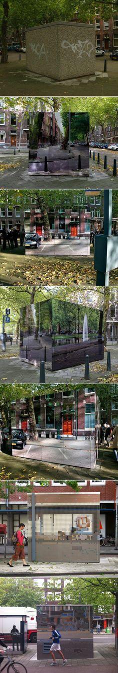 Urban Camouflage par Roeland Otten