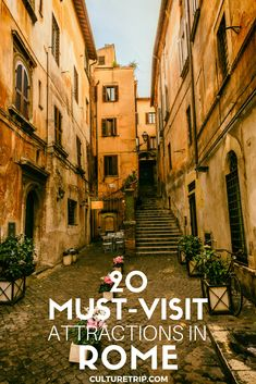20 Must-Visit Attractions In Rome|Pinterest: @theculturetrip