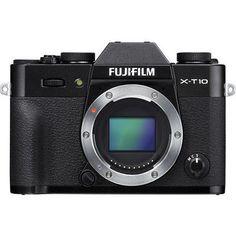 Fujifilm Fuji X-T10 16.3MP Mirrorless Digital Camera Body 16470245
