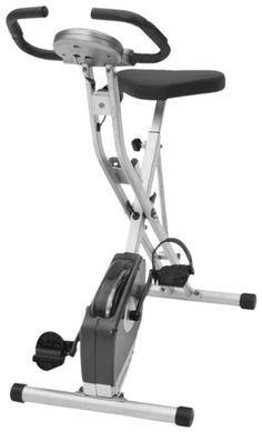 TOPSELLER! Exerpeutic Folding Magnetic Upright Bike with Pulse $207.99
