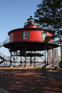 Seven Foot Knoll lighthouse [1855 - Baltimore, Maryland, USA]