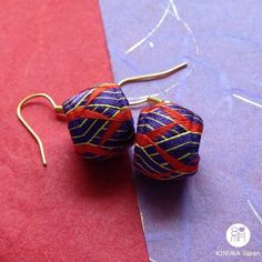 New Kaga Yubinuki handmade earrings!