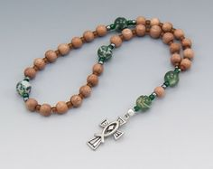 Jesus Fish Rosary - Christian Prayer Beads - Protestant - Methodist - Episcopal - Anglican Rosary