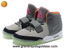 Buy Gray Orange Men Shoes Nike Air Yeezy II