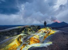 A ranger surveys a new lava field in Virunga National Park, Democratic Republic of the Congo, in this National Geographic Photo of the Day.