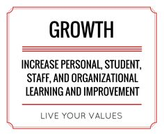 Increase growth. Live your values.