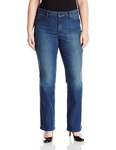 NYDJ Womens Plus Size Barbara Bootcut Jeans Nottingham 22W ** Visit the image link more details. (Note:Amazon affiliate link)
