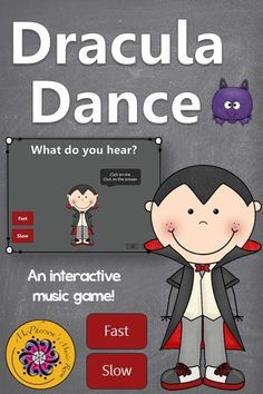 Watching my kindergarten and first grade music classes play this student interactive game reinforcing tempo (fast/slow) was priceless! Lots of giggles and begging to do it again! Perfect for fall, Halloween or anytime and it works with or without a Smartboard! Great addition to your Orff and Kodaly curriculum resources.
