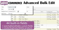 WooCommerce Advanced Bulk Edit v4.0.4