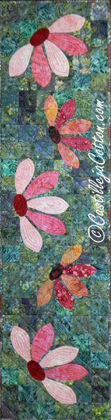 Blooming Table Runner Quilt Pattern