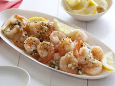 Shrimp Scampi from FoodNetwork.com...first time making for mom & she raved over it.  I will take her word as I can't eat shellfish.