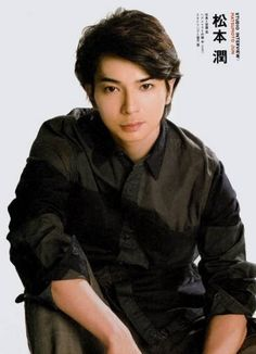 松本潤 Matsumoto Jun / Matsujun photo on a magazine interview.
