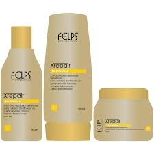 Felps Profissional Xrepair Conditioner Bio Molecular - 200ml Xrepair Felps Professional Conditioner was developed to moisturize while protecting hair color.