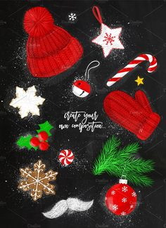 Christmas Time by Anna on @creativemarket