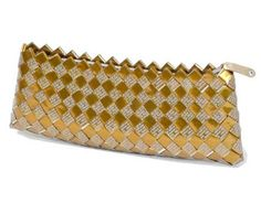 Nahui Ollin Purse Candy Wrapper Clutch