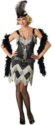 This is the Charleston Cutie Adult Costume - X-Large at a cheap price. This costume which is 'Charleston Cutie Adult Costume - X-Large' consists of the. Flapper Girls, Flapper Girl Costumes, Adult Costumes, Costumes For Women, 1950s Costumes, Gatsby Costume, Morris Costumes, Fantasy Costumes, Disney Costumes