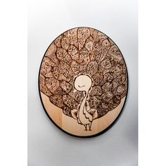 "Nidhi Chanani wood burning ""Unfurled"""