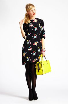Night Out: kate spade new york sheath dress & accessories #Nordstrom #Holiday