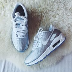 NikeID Air Max 90 Silver Hyperfuse Sneakers •Custom NikeID Air Max 90 Sneakers.   •Women's size 6, true to size.  •New in box (no lid).  •NO TRADES/PAYPAL/MERC/HOLDS/NONSENSE. Nike Shoes Sneakers