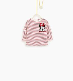 Image 1 of Striped Minnie top from Zara