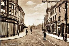 Dudley High Street in the early Local History, Family History, Wolverhampton, Still Standing, West Midlands, Old Pictures, Birmingham, Nostalgia, England