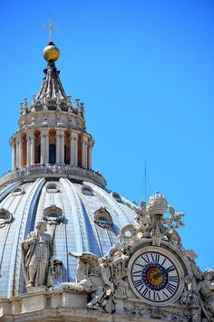 Dome of St Peter's Basilica, Vatican City, Italy