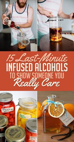 alisoncaporimo last minute infused alcohols