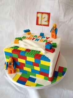 Awesome Lego cake. Beats the one I made!