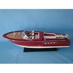 """Riva Aquarama Limited 32"""" - Speed Boats - Model Ship Wood Replica - Not a Model Kit (Toy)  http://howtogetfaster.co.uk/jenks.php?p=B003B3QSFE  B003B3QSFE"""