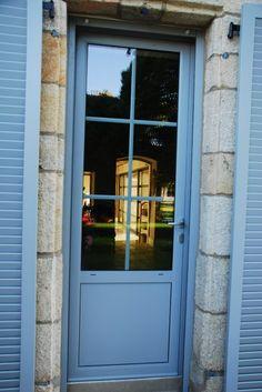 Porte d 39 entr e vitr e en pvc mod le corot la v ritable - Carreau porte vitree ...
