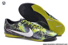 Authentic (Flash Lime/Black/White) IX IC TROPICAL PACK Nike Mercurial Vapor