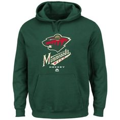 Majestic Minnesota Wild Critical Victory VIII Pullover Hoodie - Green