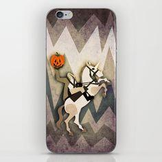 Headless Unicornman iPhone & iPod Skin