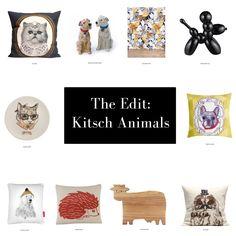 Go wild with our Kitsch Animal Homeware edit!! #groomedandglossy #animals #kitsch #interiors #homeware http://www.groomedandglossy.com/the-edit-kitsch-animals/