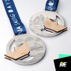 Medale na imprezę żeglarską