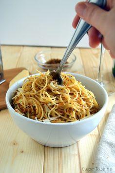 Easy Lemon Herb Spaghetti
