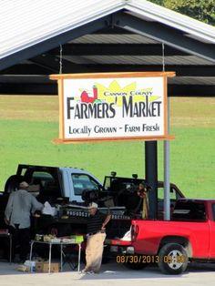 Saturday is a market day at Cannon County Farmers Market in Woodbury, Tennessee 6am - noon http://www.farmersmarketonline.com/fm/CannonCountyFarmersMarket.html