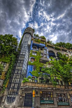 HDR of the Hundertwasserhaus in Vienna. This is one really nice building. Austria