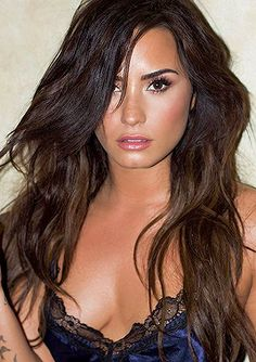 ddlovato: Worked on something special this weekend… can't wait for you all to see.