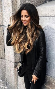 How to Balayage Highlights on Dark Hair How to Balayage Highlights on Dark Hair. - How to Balayage Highlights on Dark Hair How to Balayage Highlights on Dark Hair… How to Balayage Highlights on Dark Hair How to Balayage Highlights on Dark Hair Brown Hair Balayage, Brown Blonde Hair, Balayage Highlights, Hair Color Balayage, Ombre On Dark Hair, Color Highlights, Bayalage Dark Hair, Brunette Ombre Balayage, Brunette Highlights