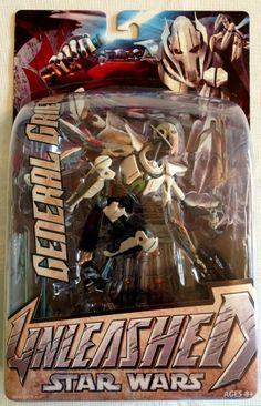 Star Wars Unleashed General Grievous Action Figure  #Hasbro
