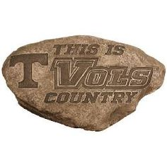 Tennessee Volunteers Vols UT Personalized Garden Stepping Stone