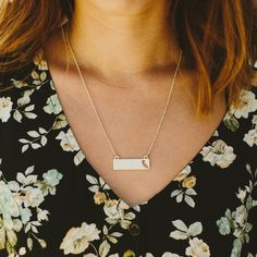 Gold California Necklace