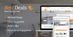 When you are searching to biuld a Real Estate website, first of all you must take into consideration WordPress! Why WordPress? Wordpress Theme, Wordpress Plugins, Icon Set, Homepage Layout, Content Manager, Rental Solutions, Modern Properties, Theme Template, Real Estate Agency