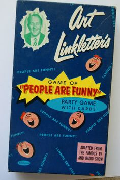 Art Linkletter's People are Funny Game (I sooo NEED this.)