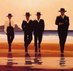 Billy Boys - Jack Vettriano